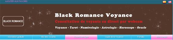 black romance voyance